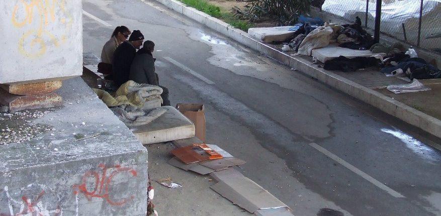 clochard senzatetto barboni pescara