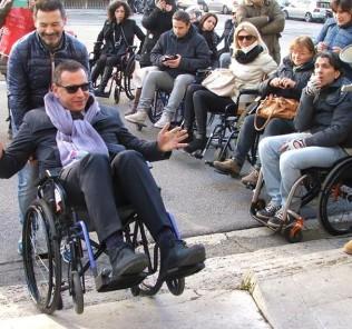 disabili, alessandrini, carrozzine