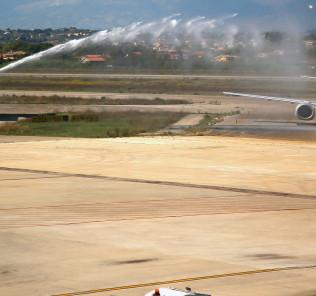 aeroporto, inaugurazione pescara-torino blue air