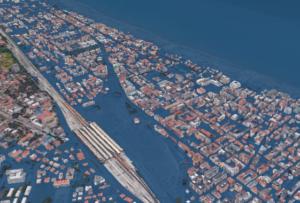 Pescara dall'alto