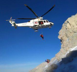 Soccorso Alpino e elicottero 118