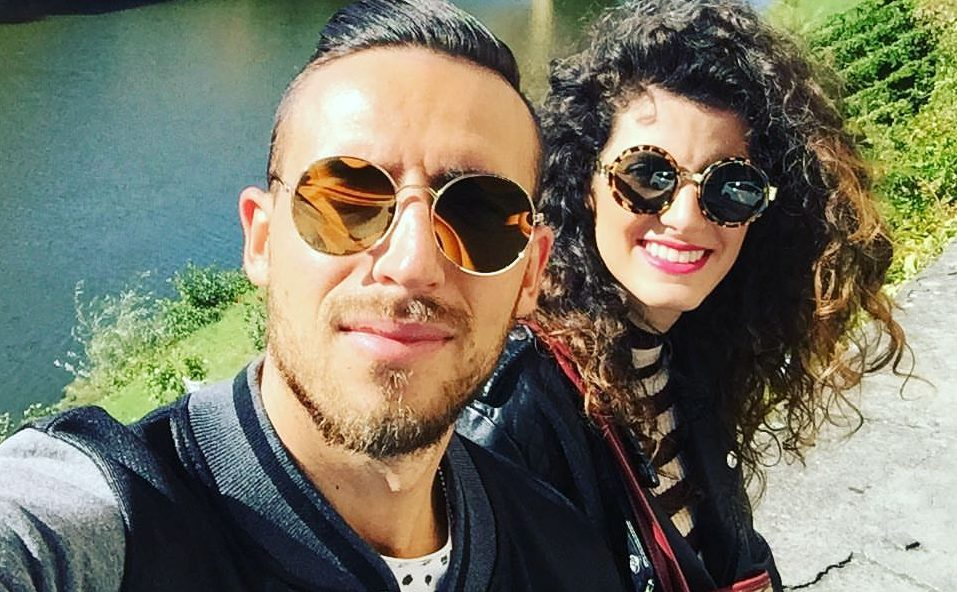 Stefano Feniello e Francesca Bronzi