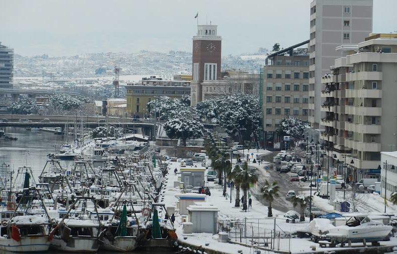 Neve a Pescara