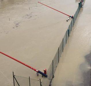 Esondazione fiume Pescara (foto Saverio Gileno)