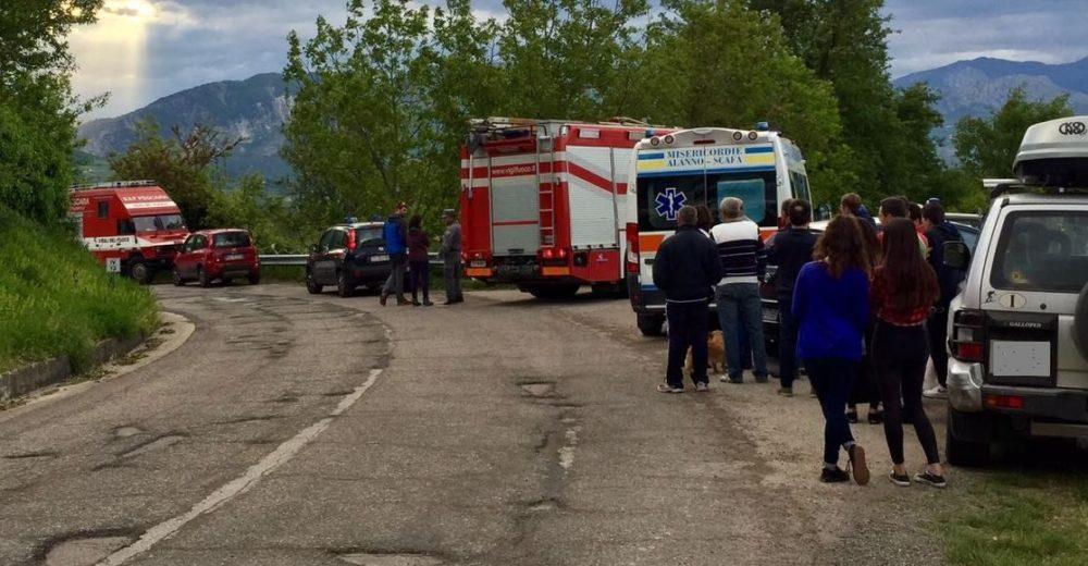 Cadono nel fiume Orta, due morti a Caramanico