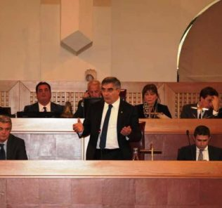 consiglio regionale luciano d'alfonso