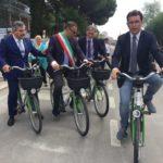d'alfonso alessandrini blasioli delrio bicicletta