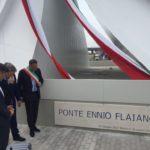 inaugurazione ponte flaiano