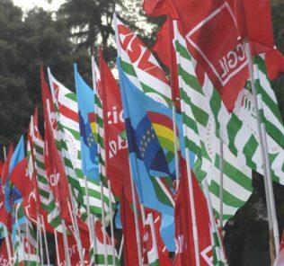 bandiere sindacati
