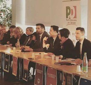 candidati pd abruzzo
