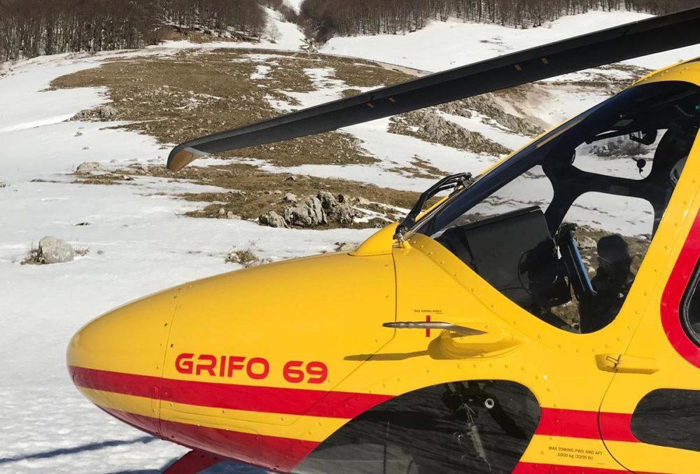 elicottero-118-montagna-neve