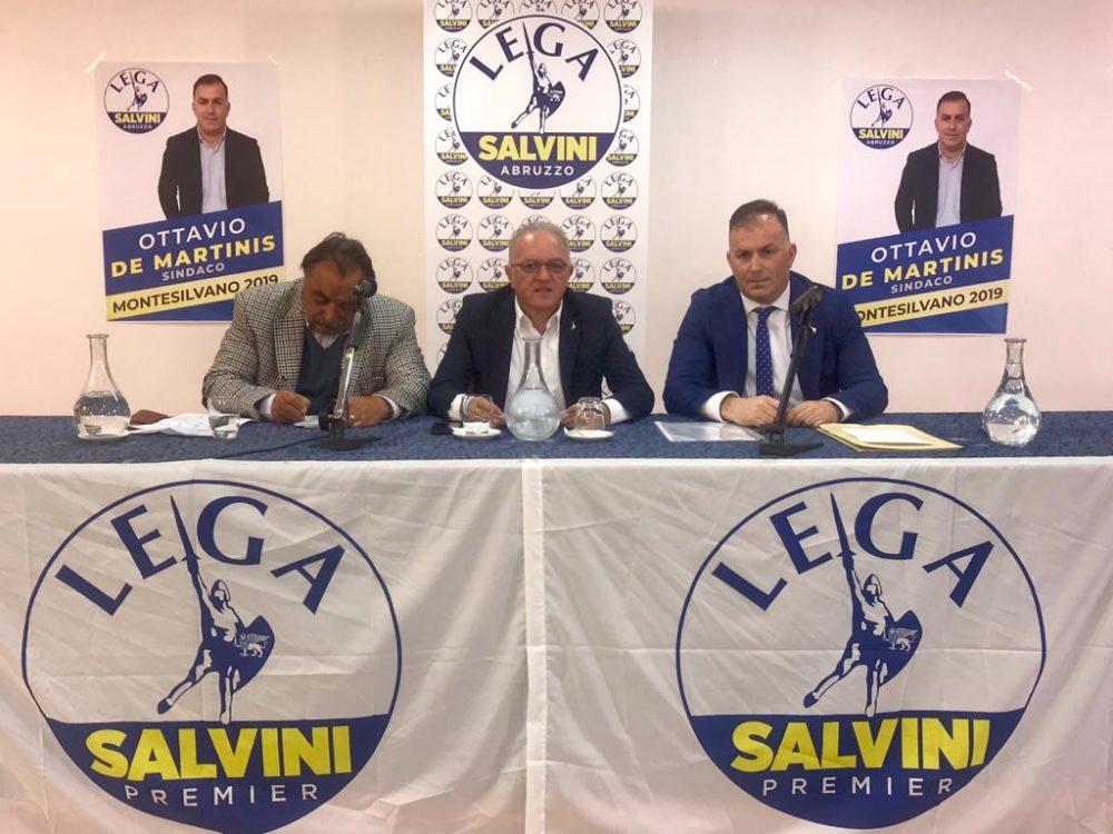 Ottavio De Martinis candidato sindaco Montesilvano