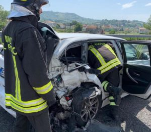 incidente autostrada a141