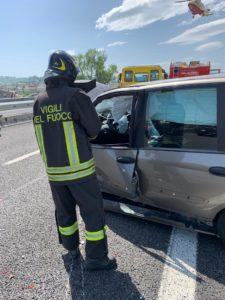 incidente autostrada a142