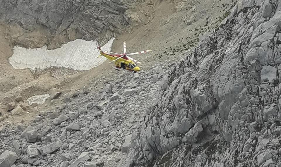 elicottero 118 corno piccolo gran sasso
