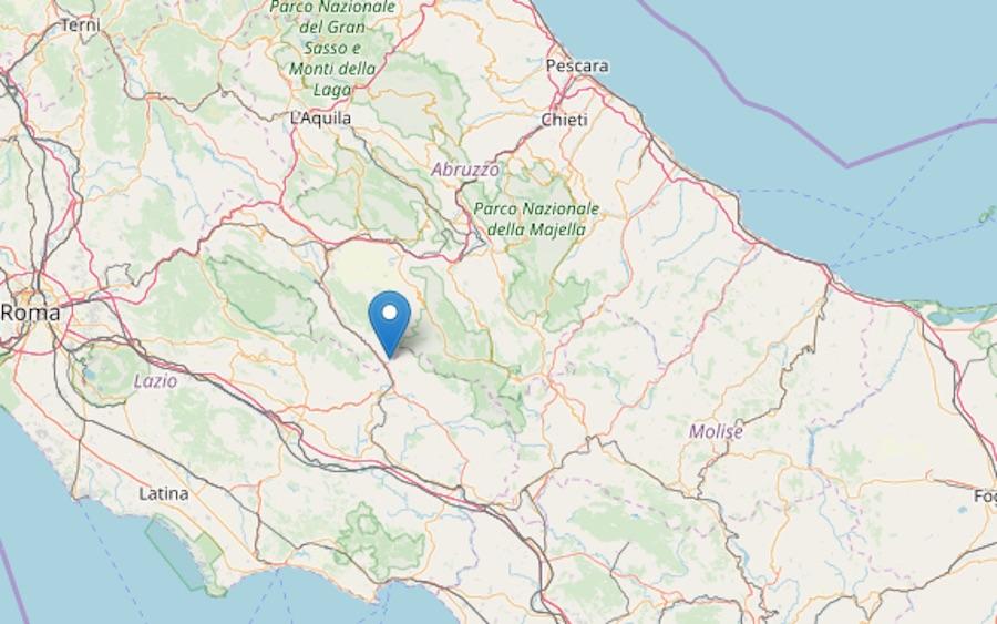 Epicentro terremoto 7 novembre
