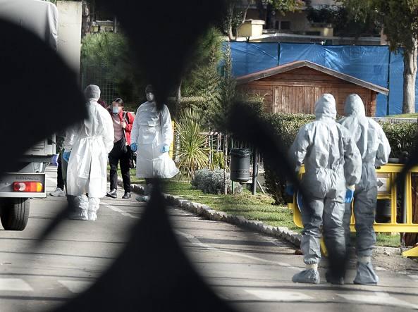Coronavirus, finita la quarantena: 19 escono dalla Cecchignola